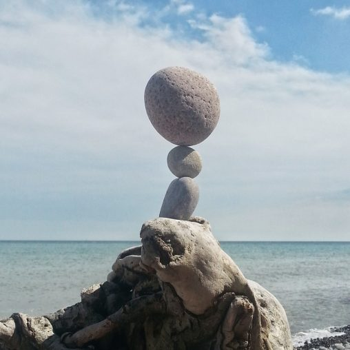 Pointbalance Møns Klint